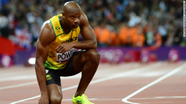 Former world-record holder Asafa Powell was one of the Jamaican sprinters who failed a drug test this year.