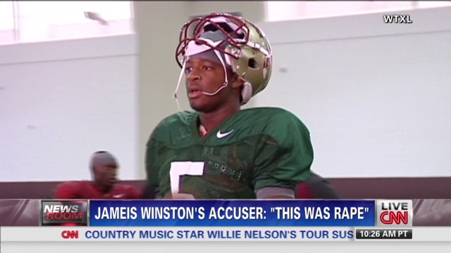 FSU's star quarterback accused of rape