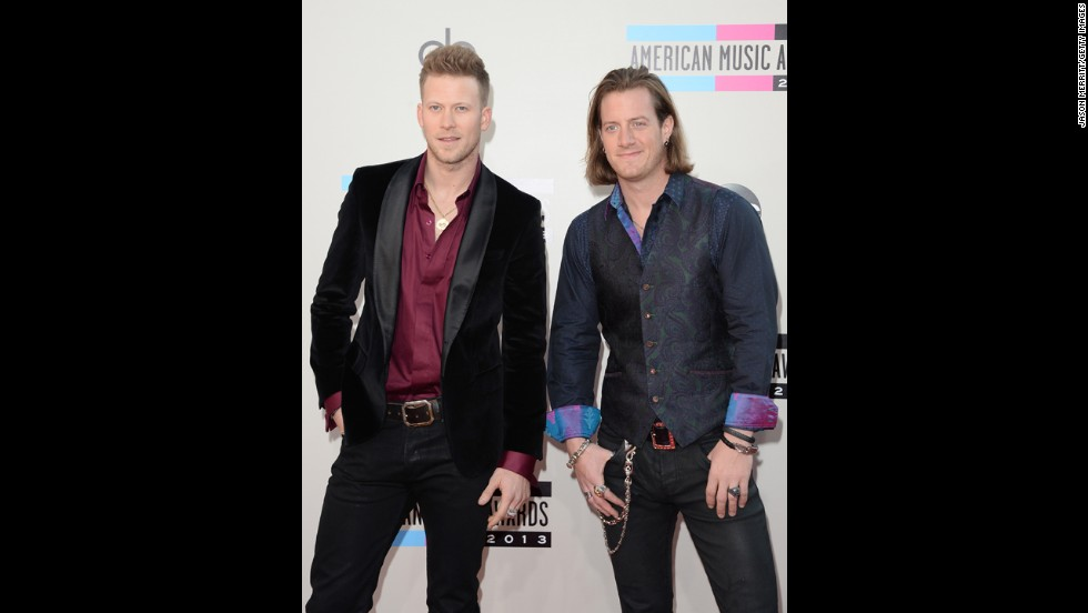 Brian Kelly and Tyler Hubbard of Florida Georgia Line