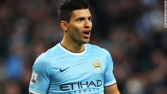 Sergio Aguero was at the top of his game as Manchester City humiliated Tottenham 6-0 at the Etihad.