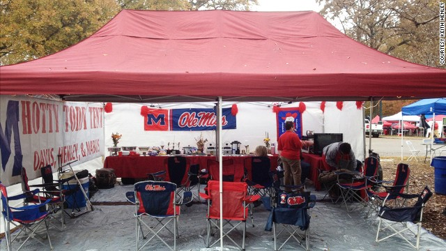 Tailgating in style