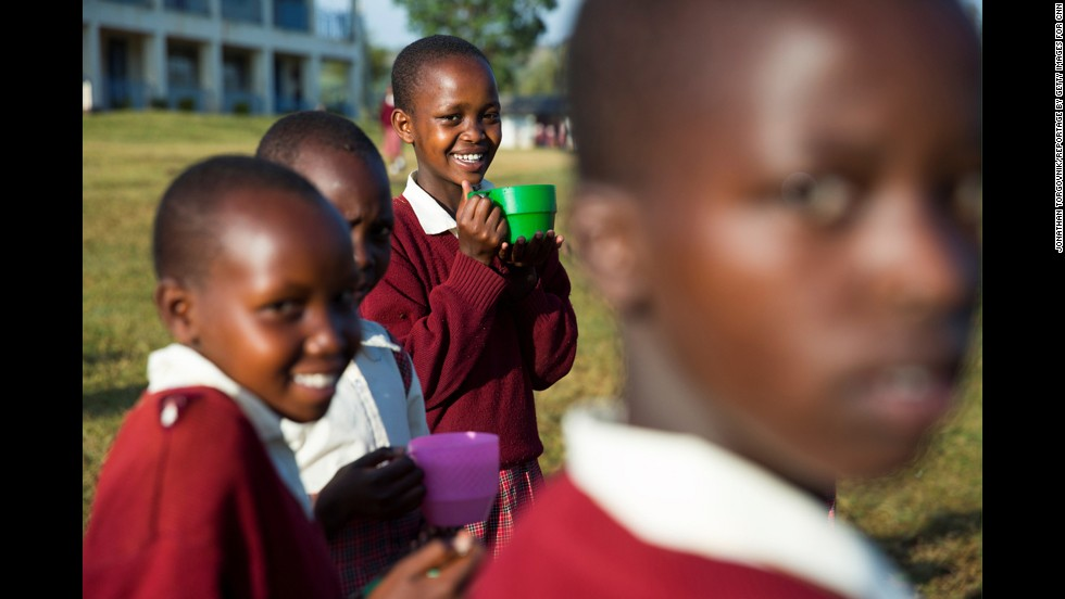"""""""Our work is about empowering the girls,"""" Ntaiya said. """"They are dreaming of becoming lawyers, teachers, doctors."""""""