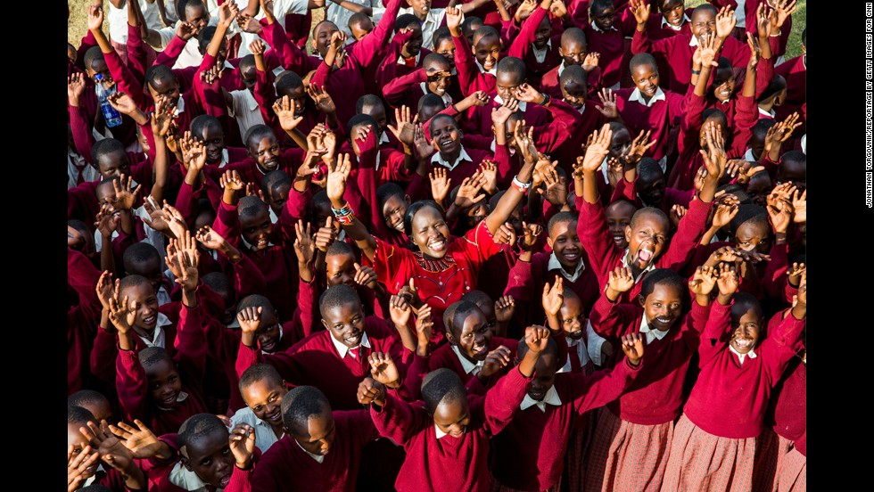 """Ntaiya hopes that one day her school will serve as a model for girls' education throughout Africa. """"I came back so girls don't have to negotiate like I did to achieve their dreams,"""" she said. """"That's why I wake up every morning."""""""