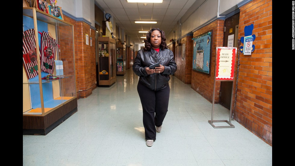 CNN Hero Tawanda Jones visits Bonsall Elementary School in Camden, New Jersey. According to the U.S. Census Bureau, about 42% of Camden's population is living below the poverty line, making it one of the poorest cities in the United States.