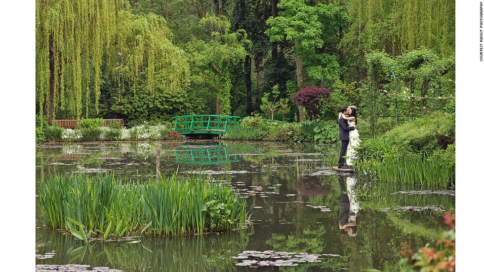 Claude Monet bought a house and land in the village of Giverny, France, in 1890 and created the Monet Garden to provide inspiration for his art.