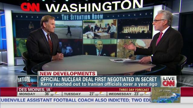 Rogers: Secret talks raise suspicions