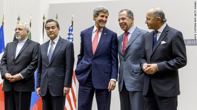 This file picture is from November's deal between world powers and Iran halting parts of its nuclear program.
