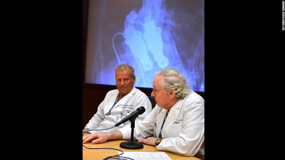 Lewis' case convinced Cohn, left, and Frazier that humans could indeed live without a pulse.