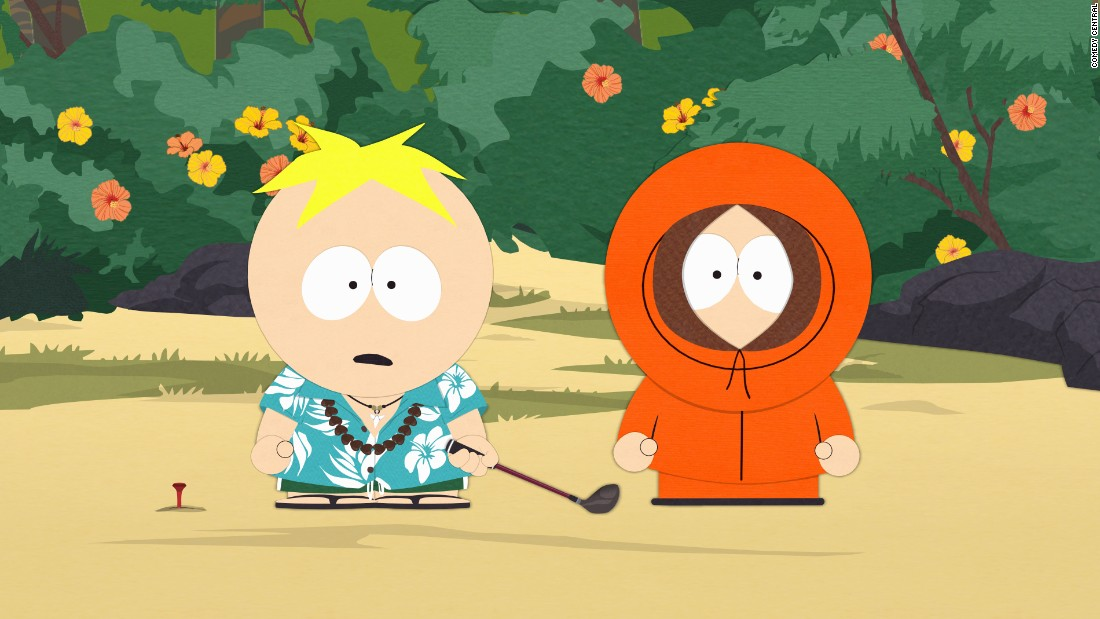 "Is there any character on TV who's died as often as poor Kenny on ""South Park""? <a href=""http://www.buzzfeed.com/jamesged/every-single-death-of-kenny-ever-41ea"" target=""_blank"">The hooded kid has met his maker</a> via death by tree, chicken pox, mosh pit and even giant bird. <a href=""http://www.southparkstudios.com/news/stc0dg/how-many-times-has-kenny-died"" target=""_blank"">By some counts</a>, Kenny has bid farewell roughly 89 or 90 times."