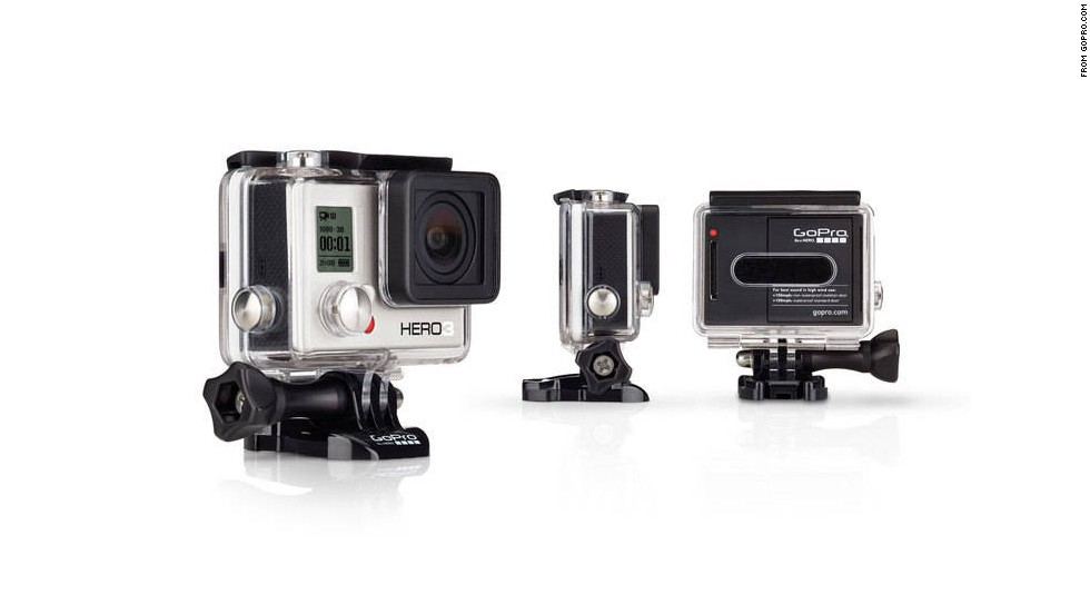 "<strong>GoPro Hero3 camera.</strong> The GoPro has already become a must-have for photographers and thrill-seekers who want to capture first-person views of their lives. The latest model, the<a href=""http://gopro.com/products"" target=""_blank""> GoPro Hero3</a>, comes in three versions (depending on memory size and features) and is just as versatile as ever. Just check out <a href=""http://www.cnn.com/interactive/2013/11/travel/atl24/index.html"">CNN's #atl24</a>, which used GoPros for a variety of shots showcasing airport activity. ($199 and up)<br />"