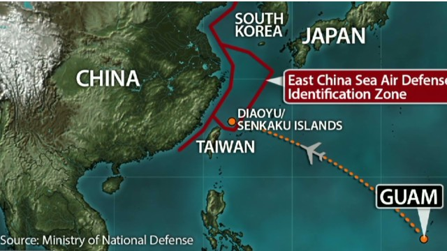 China sends fighter jets to disputed zone