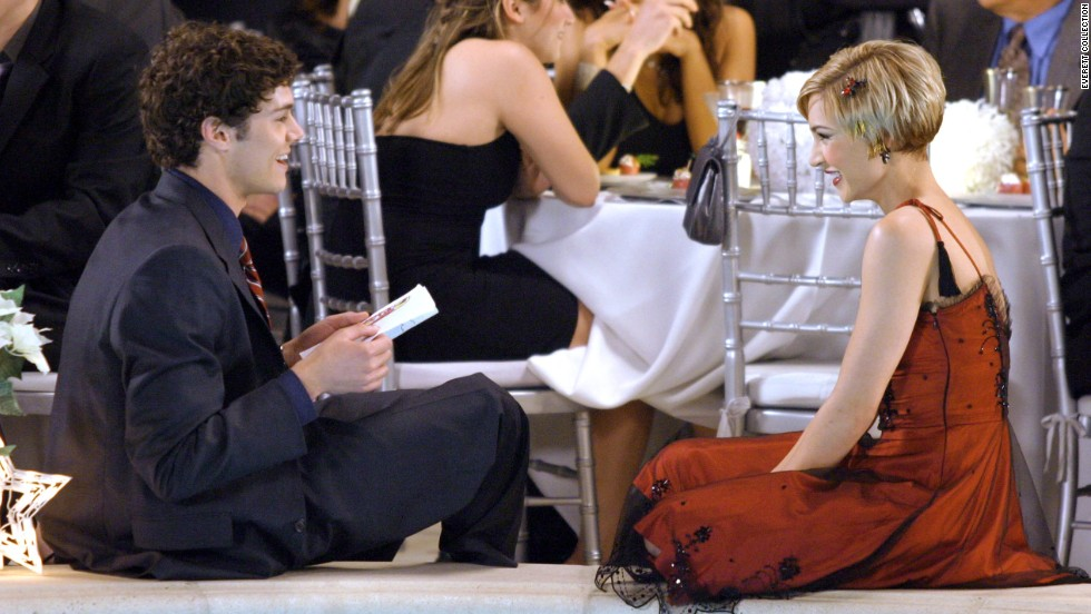 "Although Seth Cohen (Adam Brody) started out on ""The O.C."" as a lonely teen, he eventually had two woman pursuing him at the same time. During the show's first Thanksgiving episode though, both realized that he was two-timing them leading to two women wanting his corpse on the dining room table, rather than the body of a dead turkey. Here Cohen is seen with Anna Stern (Samaire Armstrong)."