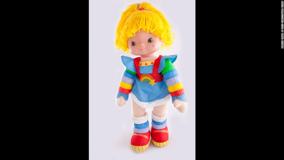 "Rainbow Brite was part of the colorful ""cavalcade of cuteness"" that ushered in the 1980s, along with Care Bears and Strawberry Shortcake, Byrne says. She proved to have less staying power than the rest."
