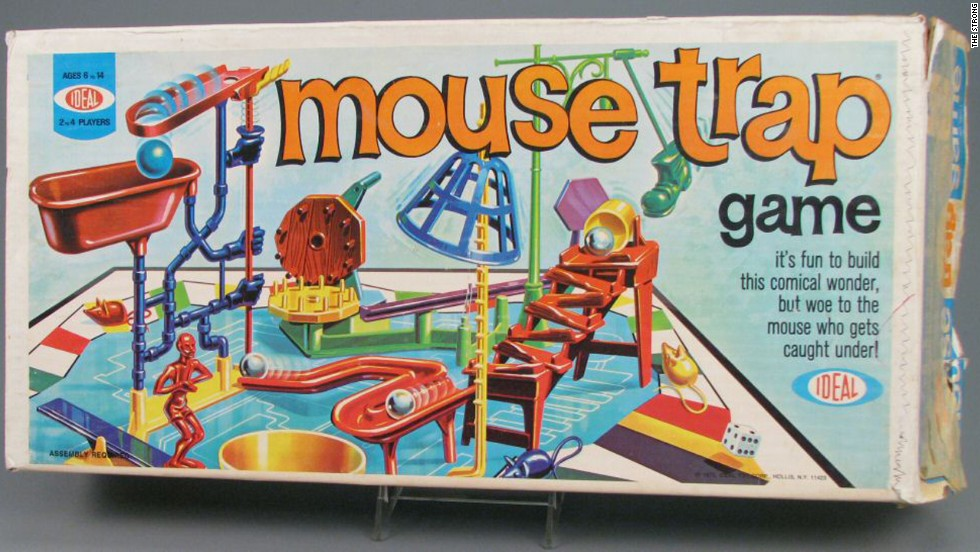 "The fact that the board game Mouse Trap is still sold today, four decades after its launch, speaks to its timeless appeal, Byrne says. Inspired by the zany contraptions featured in Rube Goldberg's ""Inventions"" cartoons, the goal was to keep your mouse out of the trap, but the fun was in building a trap that worked, Byrne writes in ""Toy Time."" Ultimately, what made it so appealing was its zaniness and unpredictability, inspiring a ""golden age"" of skill-and-action games."