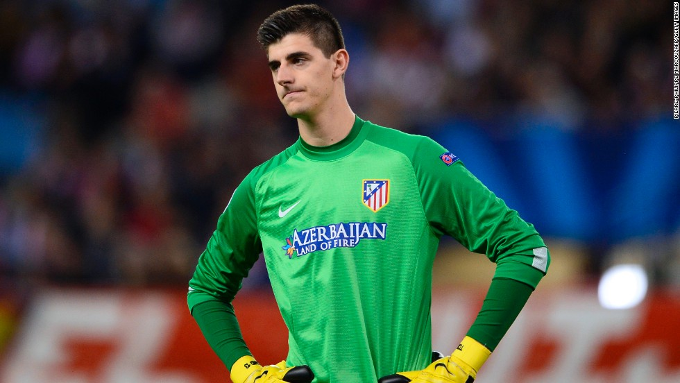 Atletico Madrid's Thibaut Courtois wears the look of a man who just made a mistake. The Belgian goalkeeper's error gifted Zenit St Petersburg a vital point in a 1-1 draw at the Petrovsky Stadium.