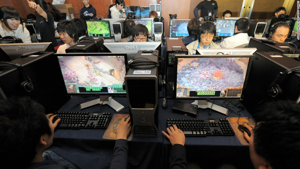 In South Korea, Starcraft is actually a career -- a potentially lucrative one, with hundreds of thousands of dollars in earnings and endorsements possible. The game is so popular that the country was selected as test market for Starcraft 2.