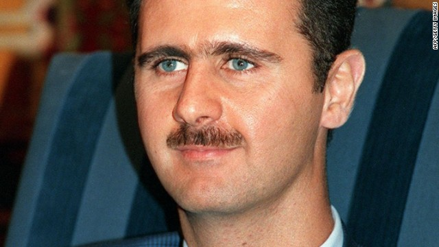 Bashar al-Assad in 1997.