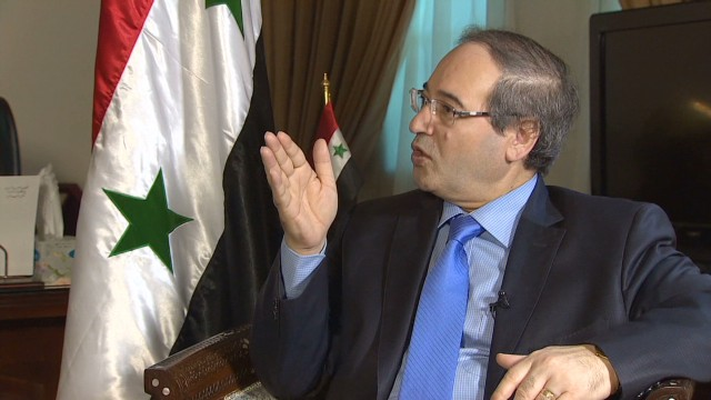 Syrian FM: Opposition 'from Middle Ages'