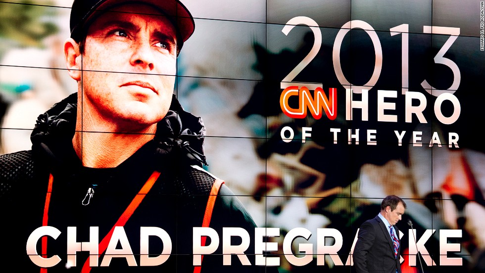 At the end of the show, Pregracke was revealed as the CNN Hero of the Year.