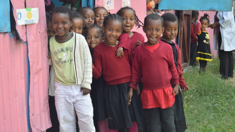Yekokeb Berhan is a program trying to help half a million highly vulnerable children in Ethiopia. Volunteers look after 25 kids as their own.
