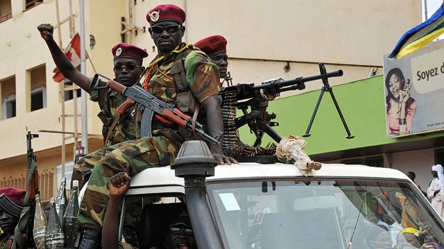 Violence grips Central African Republic