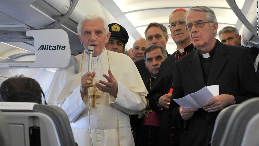 Sitting next to the Pope would be an honor. For everyone else, please leave the religious evangelism at the gate.