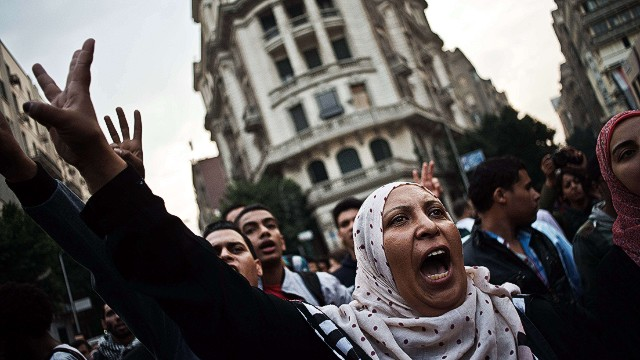 HRW: Arrests taken to new level in Egypt