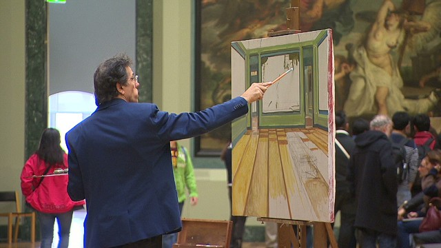 The art of copying at the Louvre