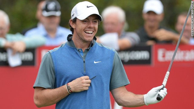 World No. 6 Rory McIlroy is all smiles after enjoying a good day at the Australian Open.