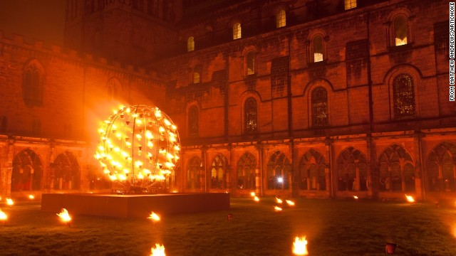 The Lumiere festival transformed the divided Northern Ireland city of Derry-Londonderry into blazes of light.