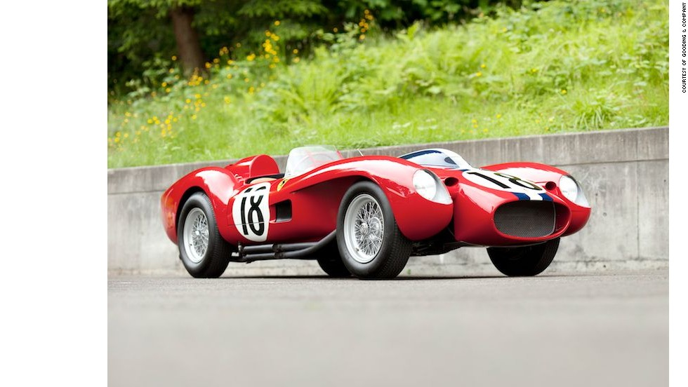 In 2011, a 1957 Ferrari 250 Testa Rossa (pictured) was sold at the Gooding & Company auction during the Pebble Beach collector car extravaganza for an eye-popping $16,390,000.