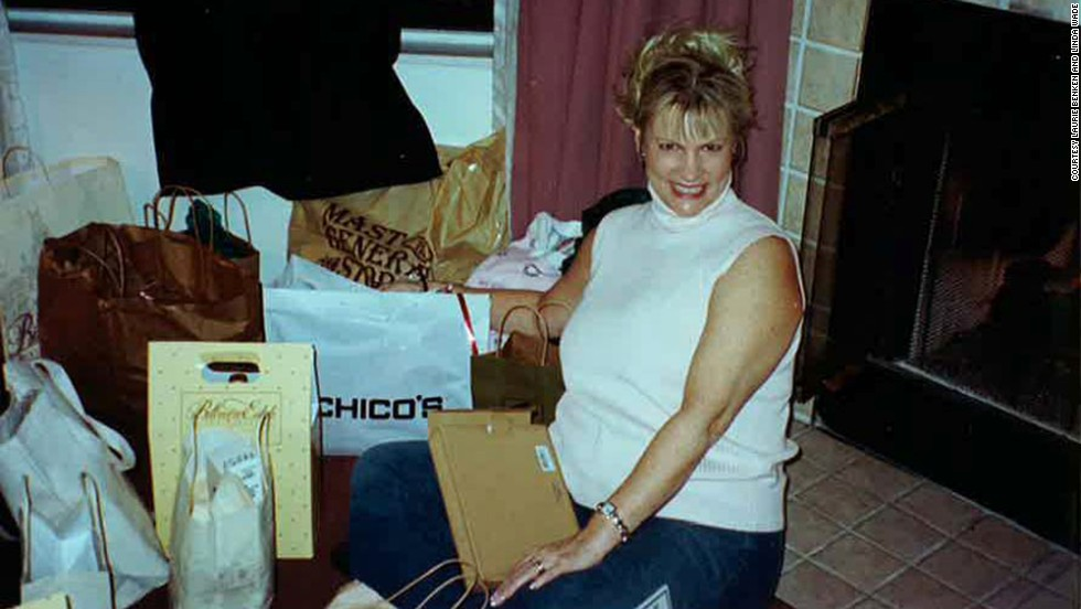 Wade (shown here in 1999) has been known to fill a car trunk with her shopping finds. As a result, the four women have made friends with at least one local retailer who opens the store just for them.