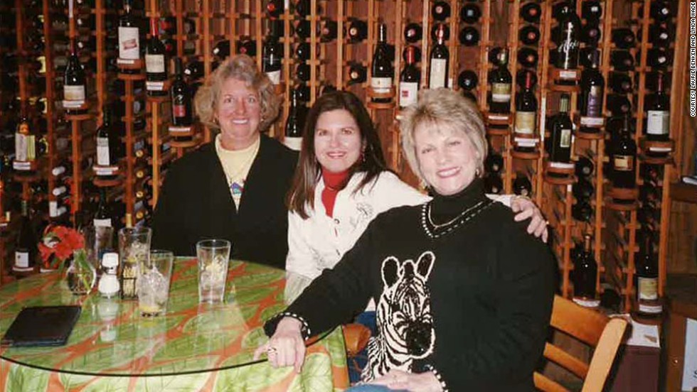 Benken, Plevyak and Wade enjoyed the wine-tasting at Wild Thyme Gourmet in Highlands in 2006.