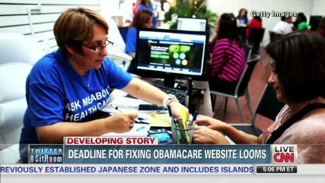 Deadline for fixing Obamacare site looms