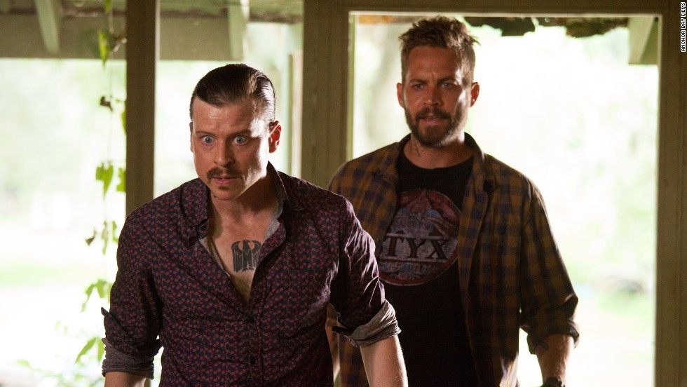"""Kevin Rankin and Walker appear in """"Pawn Shop Chronicles,"""" a 2013 film about a missing wedding ring that sets off a wild goose chase."""