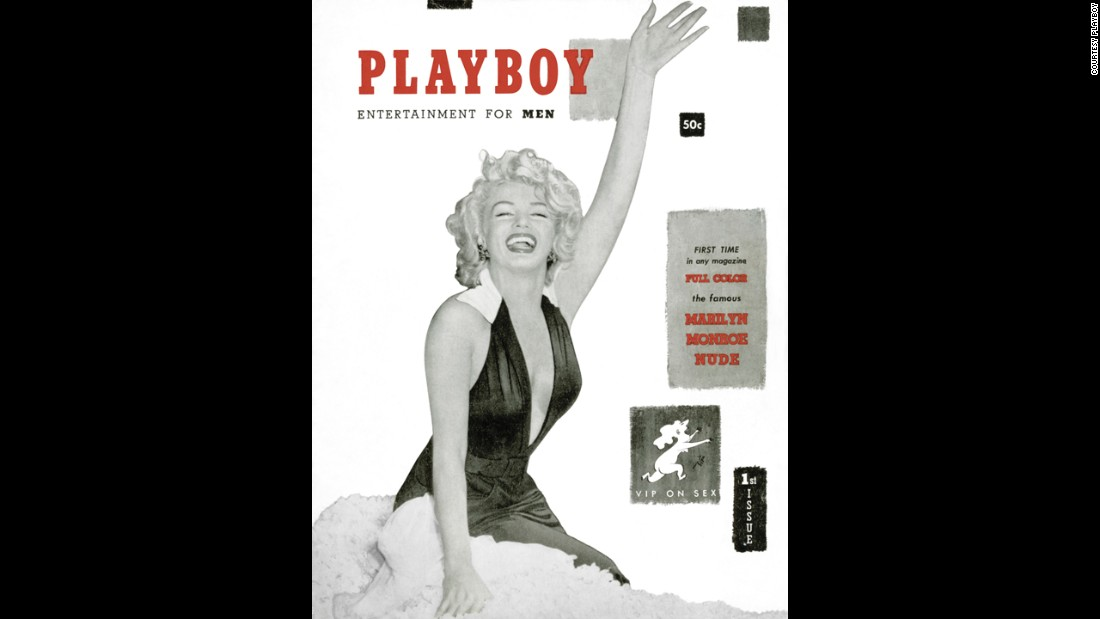 That first issue of Playboy featured Marilyn Monroe on the cover. Financed with $600 of Hefner's money and less than $8,000 of raised capital, the magazine appeared on newsstands December 1, 1953, and sold more than 51,000 issues.