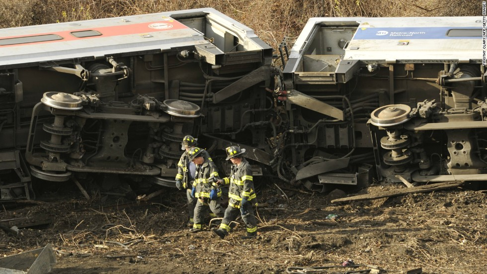 The train operator -- who is among the injured -- told investigators he applied brakes to the train, but it didn't slow down, a law enforcement official on the scene and familiar with the investigation said.