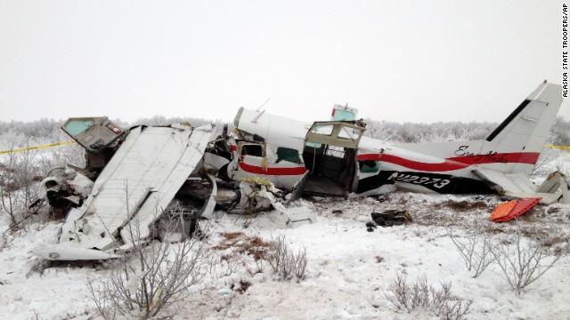 Woman loses baby in Alaskan plane crash