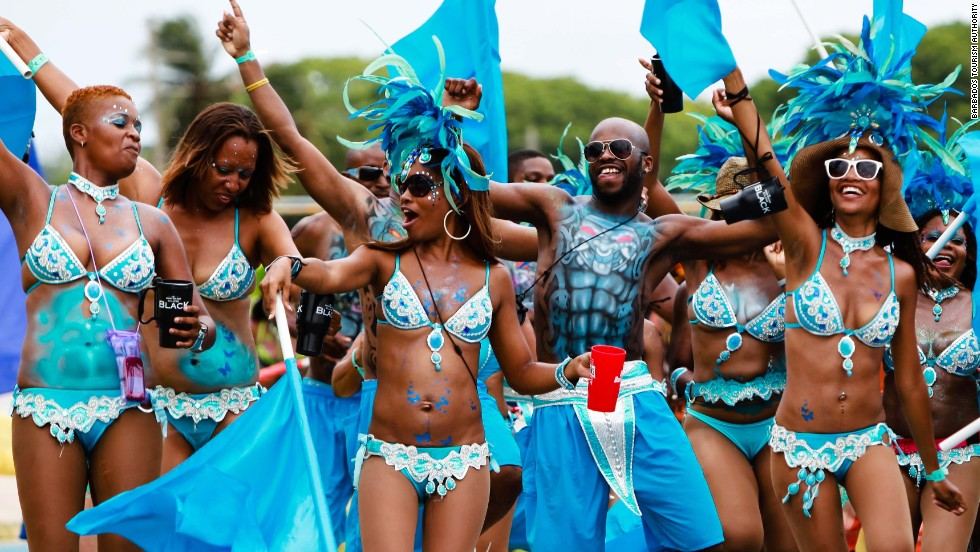In the 18th century, Barbados was the wold's largest sugar producer, and they used to celebrate the end of the harvest with a festival. Though no longer a top exporter, the festivities -- called Crop Over -- have become a staple on the cultural calendar.