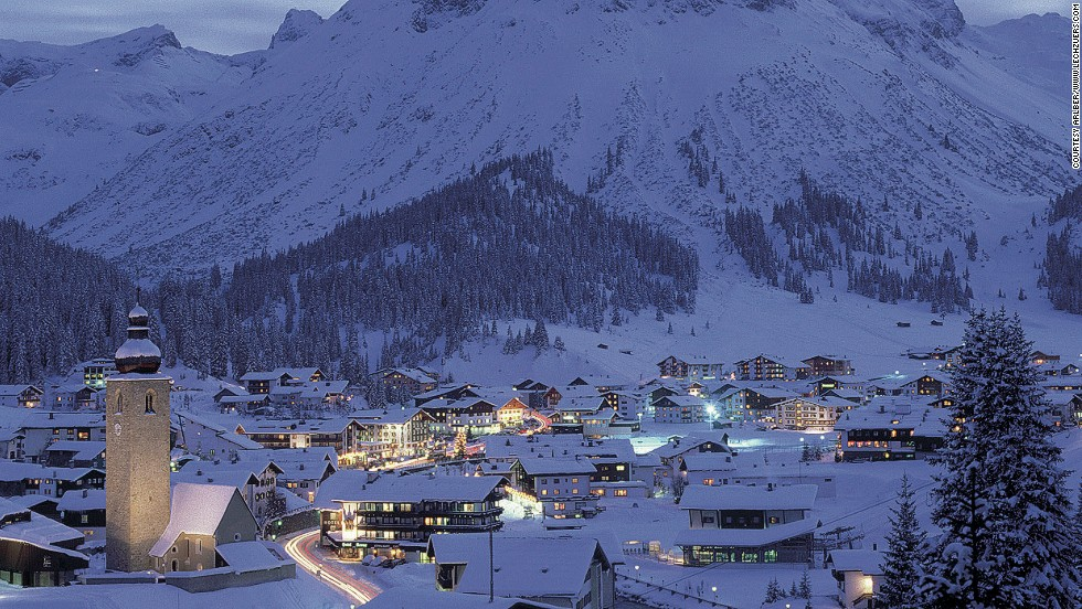 The small resort of Lech-Zürs is getting bigger -- this winter it'll be connected to nearby Warth-Schröcken by a two-kilometer-long ropeway ski lift, meaning visitors can now access 47 lifts.