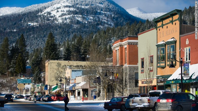 In terms of size, BC's Red Mountain is one of the top 20 ski areas in North America.
