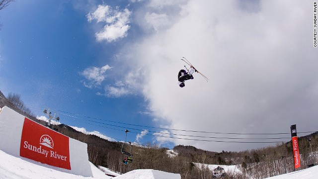 Sunday River has a new terrain park this year.