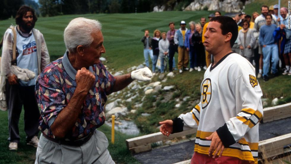 "<strong>""Happy Gilmore"": </strong>Bob Barker and Adam Sandler mix it up in this 1996 comedy. <strong>(Amazon Prime) </strong>"