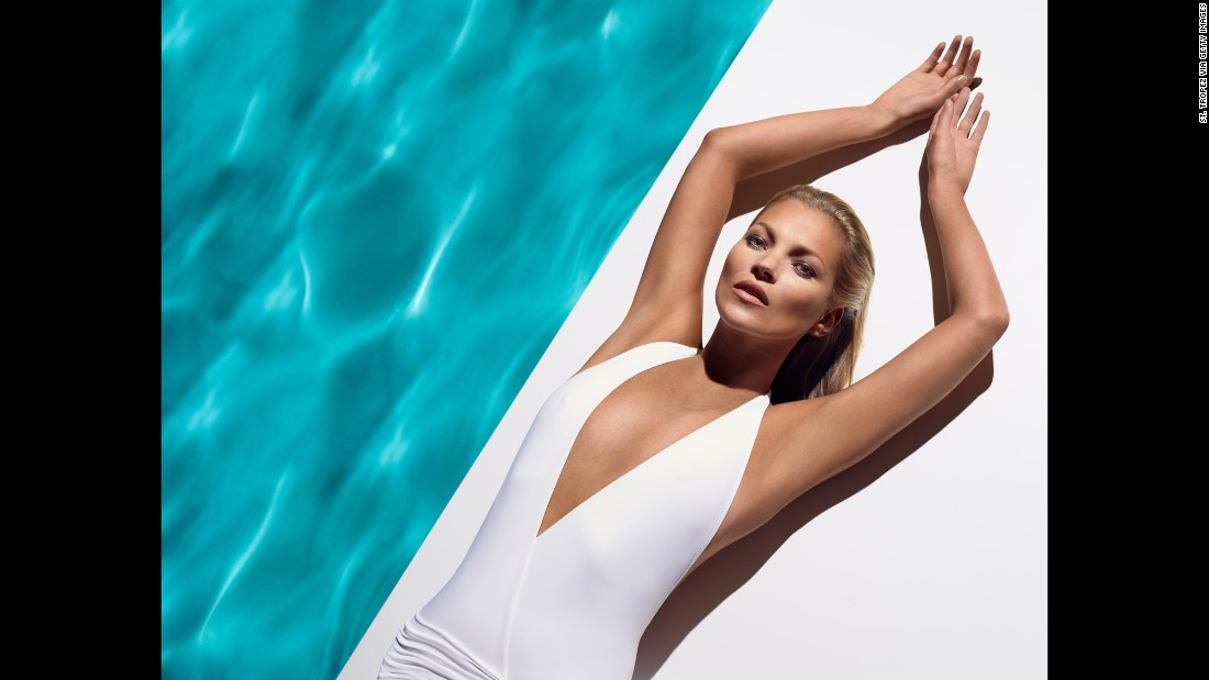 Moss models for global self-tan brand St. Tropez. Her roster of clients has included Bulgari, Dolce & Gabbana, Longchamp, Versace, Virgin Mobile and Nikon.