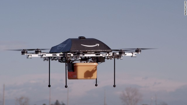 Amazon's drones will make delivering products to customers' doors easier