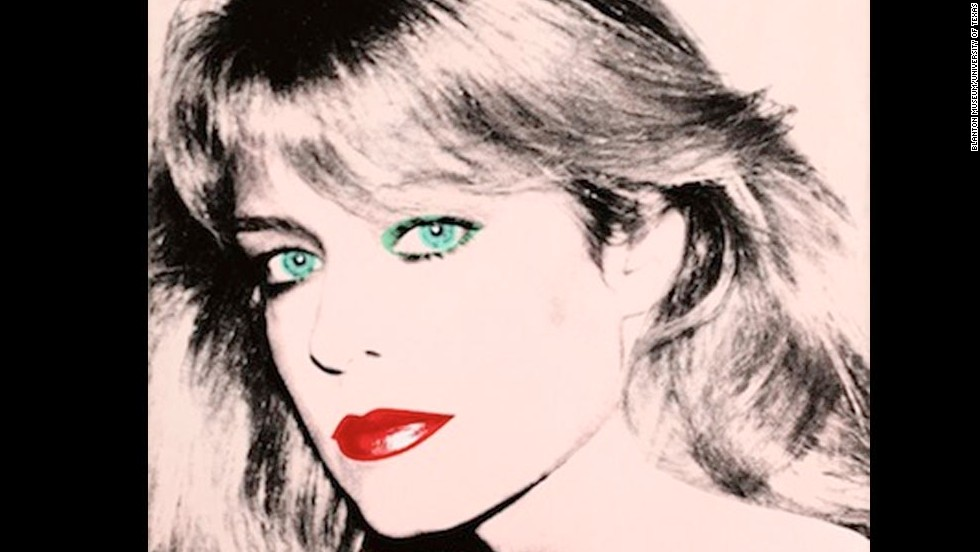 "This Andy Warhol portrait of actress Farrah Fawcett is at Fawcett's alma mater, the University of Texas at Austin. Fawcett bequeathed her art collection to the university after she <a href=""http://www.cnn.com/2009/SHOWBIZ/TV/06/25/obit.fawcett/"">died of cancer in 2009</a>. Click through the gallery to see photos from Fawcett's life and career."