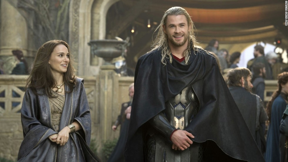 Chris Hemsworth's reign as Thor comes with a princely sum. The Australian actor, here with co-star Natalie Portman, is in the top five of Forbes' highest-paid actors list this year, earning an estimated $37 million.