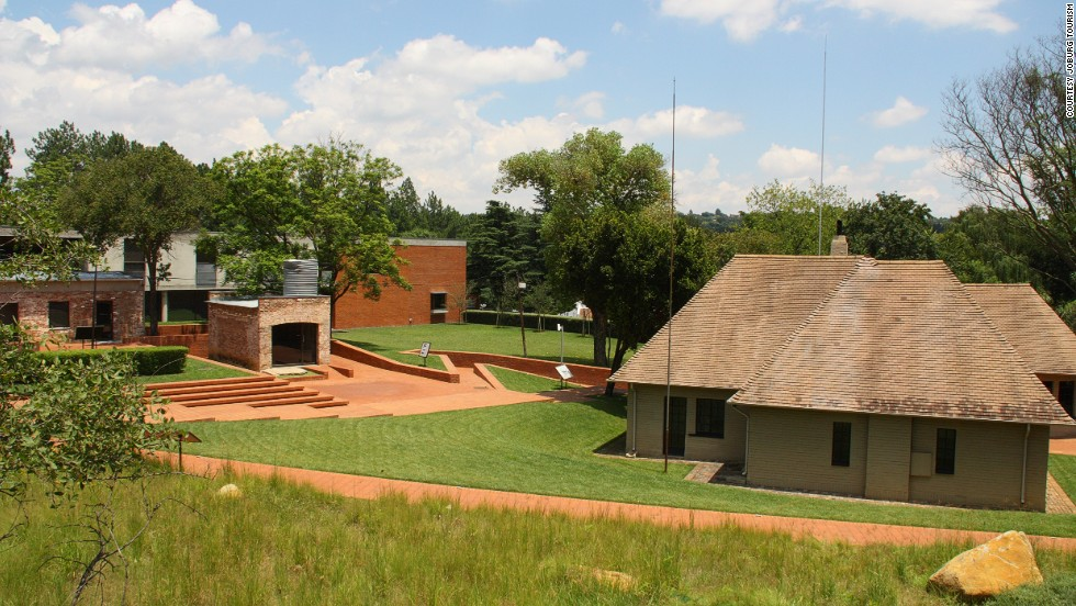 Liliesleaf Farm, in the affluent northern suburb of Rivonia, is where 19 ANC activists including Nelson Mandela were arrested and, in his case, later imprisoned for 27 years.