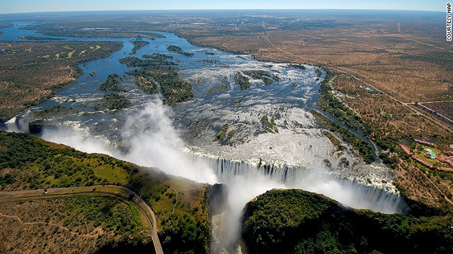 Victoria Falls is said to be one of the world's seven natural wonders.