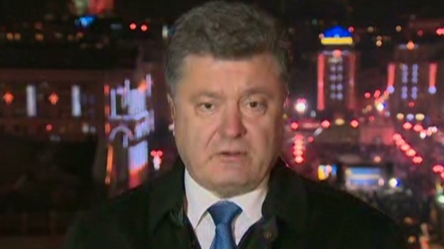 Poroshenko: I'm proud of this country